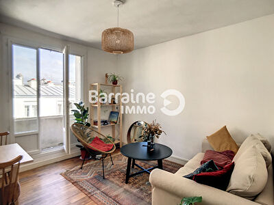 A LOUER BREST SIAM TRIANGLE D'OR APPARTEMENT T2 40.25 m²