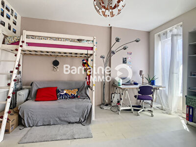 LOCATION BREST SAINT MARTIN  APPARTEMENT T1 28,91 M² LUMINEUX EXPOSE SUD